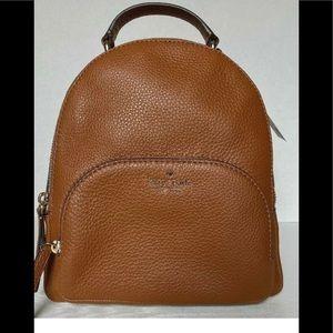 Kate Spade Medium Jackson Leather Backpack NEW